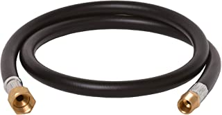 Flame King Thermo Plastic Hose Assembly for LP and Natural Gas, 48 Inch, 3/8 Inch ID - 100383-48