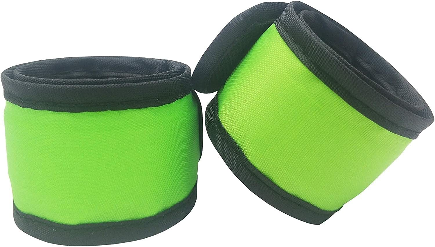 Pack of 2 LED Light Max 88% Ranking TOP3 OFF Up Armband Brace Slap Gear Reflective Lights