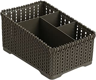 $41 » AKIWOS Plastic Storage Basket, Organizer Bins Container for Home Office to Store Products, Large Capacity Item Dividers Holders
