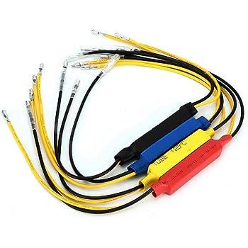 Dibiao r/ésistance de charge led r/ésistance led 4pcs 12v indicateur de clignotant de moto led r/ésistance de charge