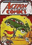 No dream Action Comics #1 Eisen Malerei Wand Poster Metall