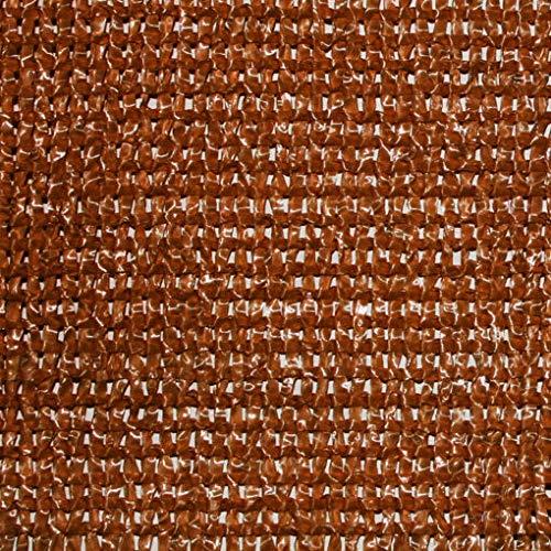 Bonerva Malla sombreado, Malla ocultación, Malla Protectora de privacidad - Verde, marrón o Beige (1 x 5 MT, Marrón)