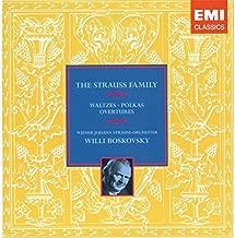 The Strauss Family: Waltzes, Polkas & Overtures - Willi Boskovsky/Johann Strauss Orchestra of Vienna 's
