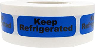 keep refrigerated stickers
