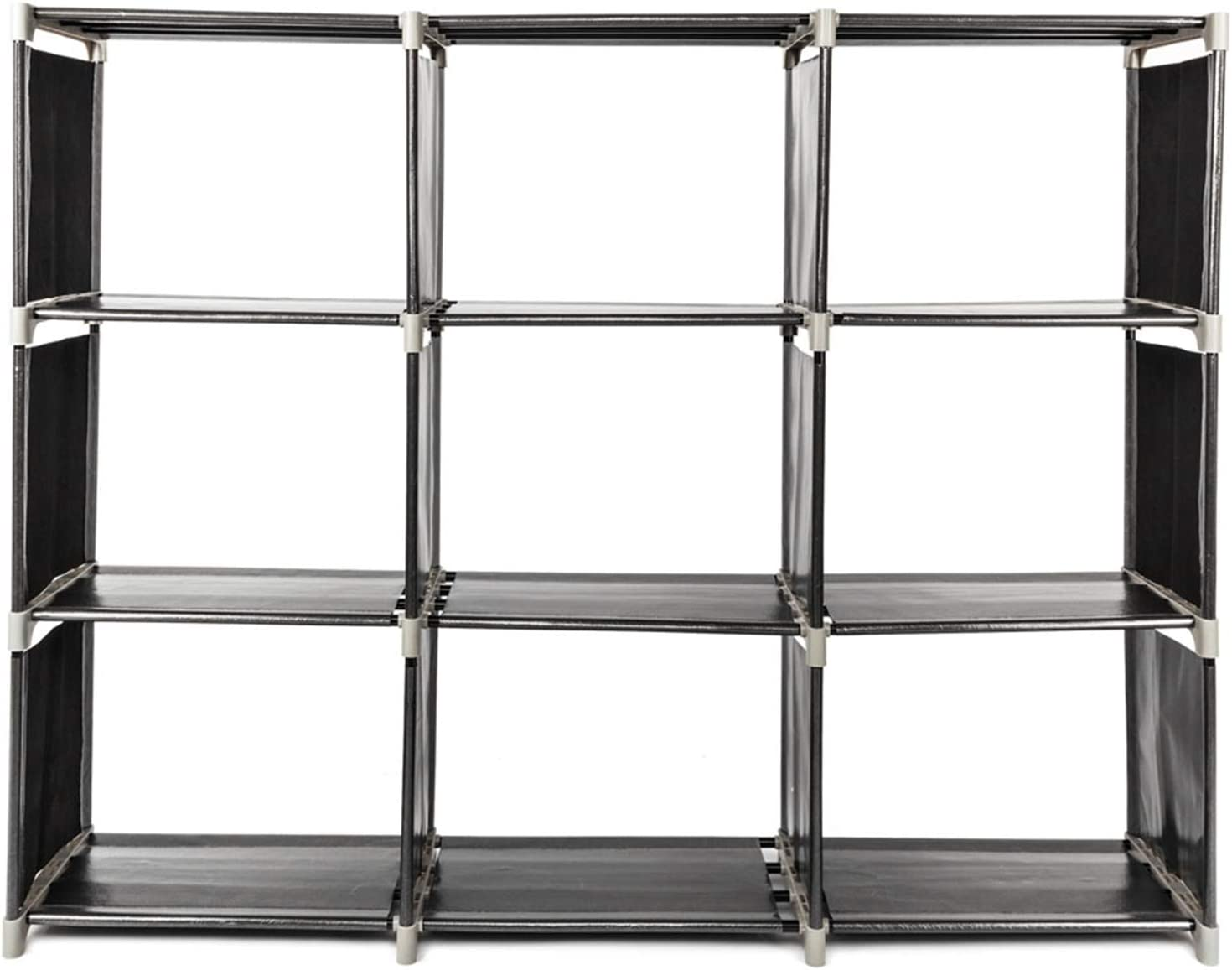 Multifunctional Assembled 3 Max 58% OFF Tiers 5 popular 9 Storage Compartments Shelf B
