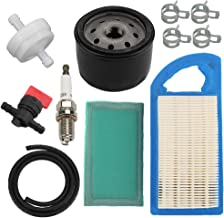 Harbot 794421 797007 698413 Air Filter + 697292 Pre-Filter + 492932S 492932 Oil Filter for Briggs & Stratton Premium AVS 8-13.5 HP Engine