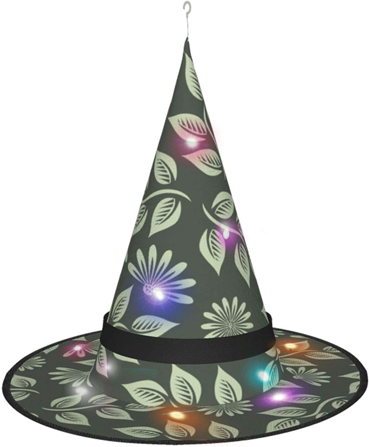 Beauty products Flowers New item Leaf Halloween Witch Hat wit Accessory for Costume Party