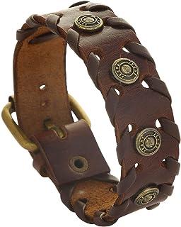 47f729ff19881 Amazon.in: Brown - Bracelets & Kadas / Men: Jewellery