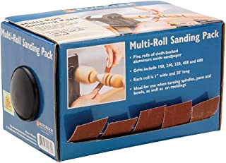 Woodturner ins Multi-Roll Sanding Pack