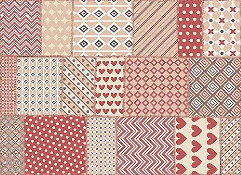 Exclusive Edition Exclusive Editon - Flat Woven Decoration Carpet, Polyester, Multicolour, 135 x 195 x 2 cm