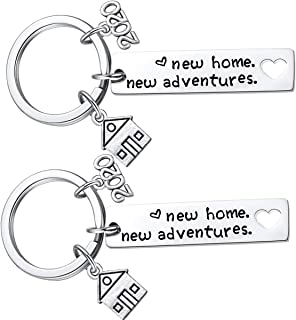 New Home Keychain 2020 Housewarming Gift for New...