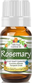 Pure Gold Rosemary Essential Oil, 100% Natural & Undiluted, 10ml