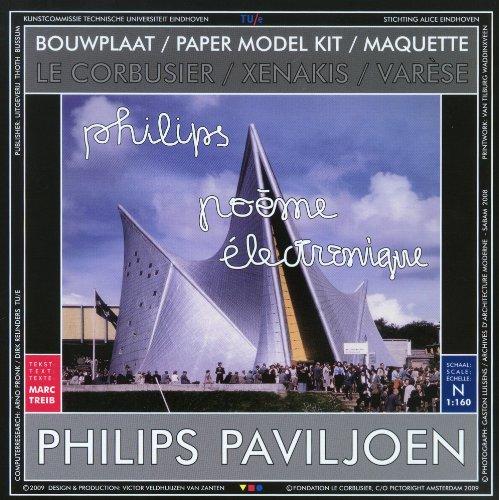 Bouwplaat: Philips Paviljoen van Le Corbusier