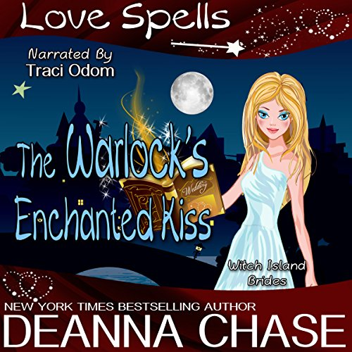 The Warlock's Enchanted Kiss audiobook cover art