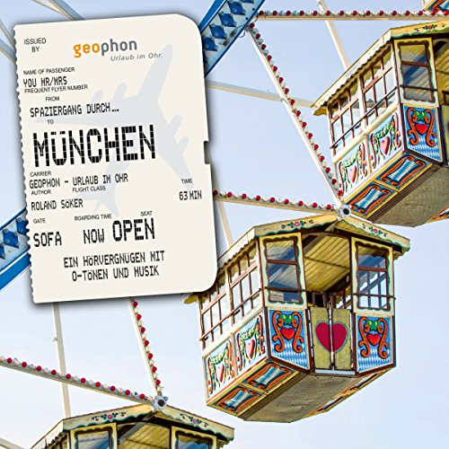 Spaziergang durch München audiobook cover art