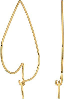 Rebecca Minkoff - Lover Hoop Earrings