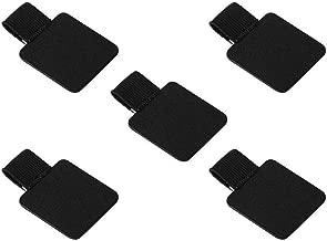 5 Pack Pen Loop Holder, Volin Crik Self-Adhesive Pen Holder Pencil Elastic Loop Designed for Notebooks, Journals,Calendars