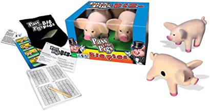 Big Game Toys~Big Pigs Yard & Floor Game Giant Pass The Pig dice