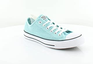 Womens All Star Low Top Lace up Fashion, Motel Pool/Blue, Size 8.0