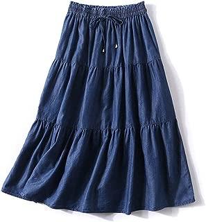 Best tiered denim skirt Reviews