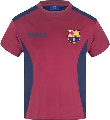 FC Barcelona - Camiseta oficial de entrenamiento - Para niño ...