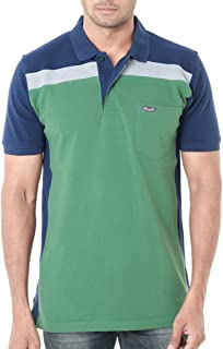 WEXFORD Men's Regular Fit Polos (WEX-WFS034C)
