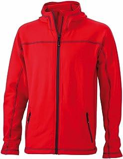 James & Nicholson JN587 Mens Stretch Fleece Jacket