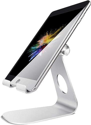 Tablet Stand Adjustable, Lamicall Tablet Holder : Desktop Holder Dock Cradle Compatible with iPad Pro 12.9,10.5, 9.7,...