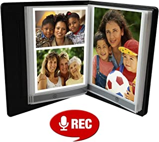Talking Products, Deluxe Talking Photo Album, Voice Recordable with Over 2 Hours Recording Time, 20 Pages.