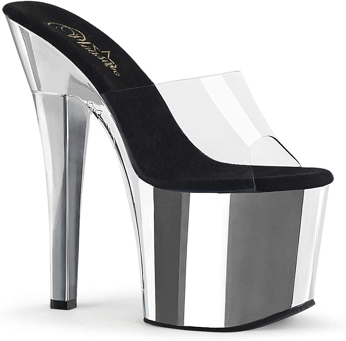 Pleaser Womens RADIANT-701/C/SCH Sandals