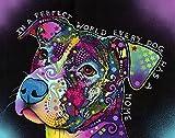 Picture Peddler In a Perfect World Pitbull a Fine Art...