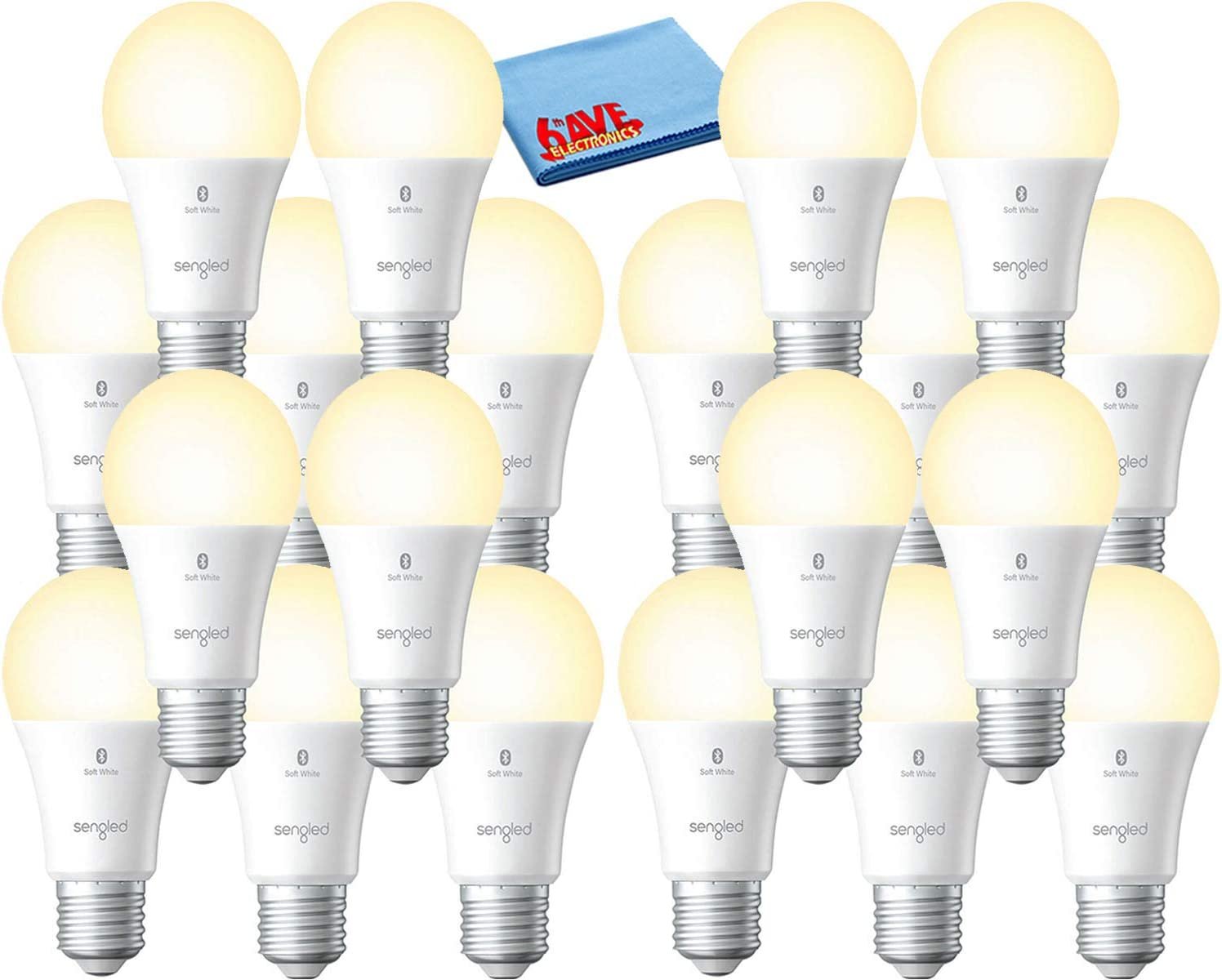 5 popular Sengled Smart Bluetooth Mesh Dimmable LED Mail order cheap A19 Compati Light Bulb