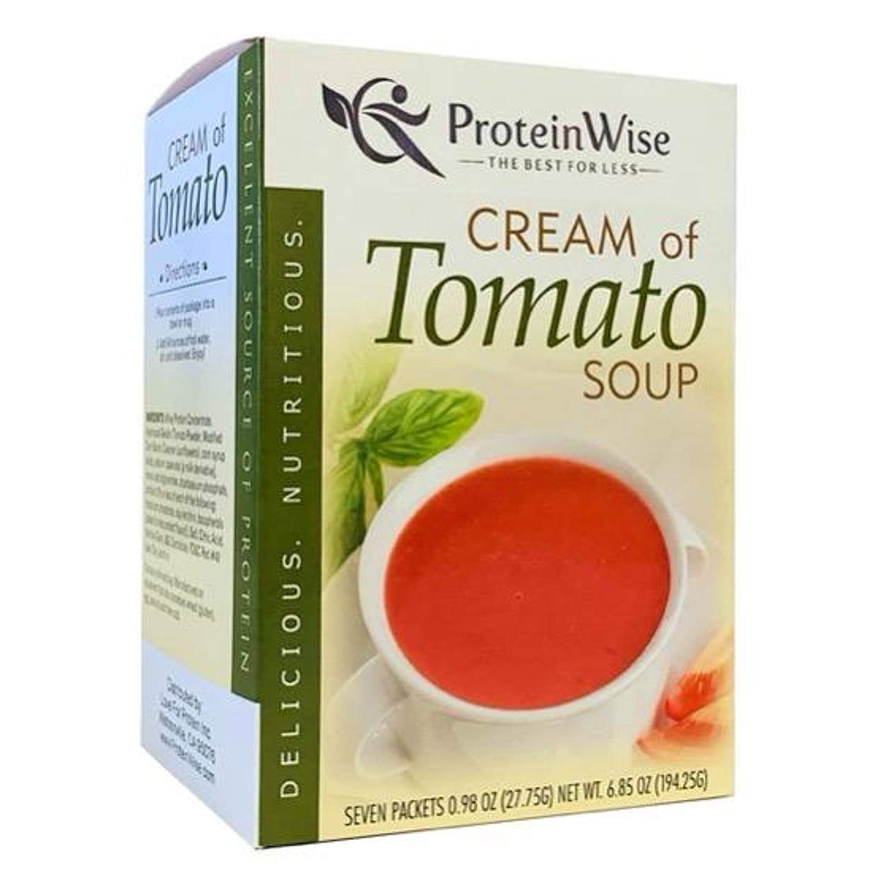 Sale price Selling and selling ProteinWise - Cream of Tomato Soup Protein 7 Box