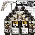 U-POL Raptor Black Urethane Spray-On Truck Bed Liner Kit w/ FREE Spray Gun, 8 Liters from U-Pol