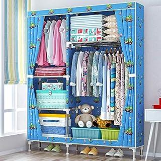 Armoire en Tissu pour vêtements Pliant Portable Armoire Rangement Cabinet Chambre Meubles de Maison 106X46X168cm -Max Home...
