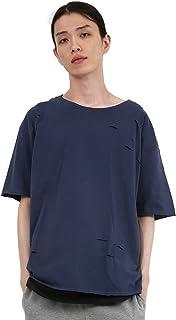 [ロッキーモンロー] Tシャツ タンクトップ セット ダメージ 半袖 メンズ