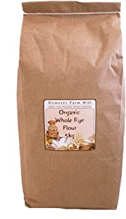 Demeter Farm Mill Organic Whole Rye Flour, 5kg