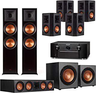 Klipsch 7.2.2 Reference Premiere Home Theater System with Marantz SR7013 9.2-Channel AV Receiver