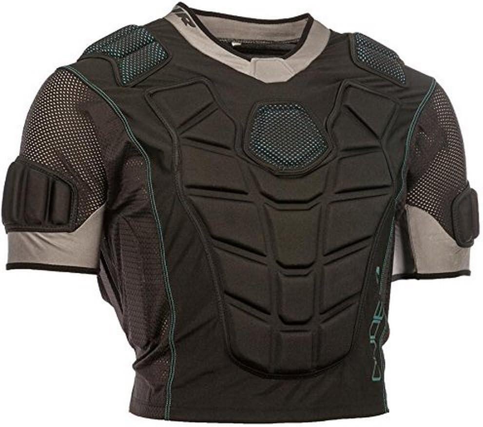 TOUR Boys Code 1 Inline Hockey Upper Body Protector, Black, YS