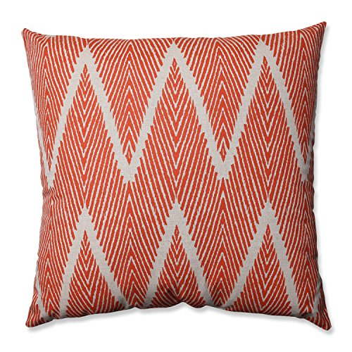 Mandarin Bali Oversized Throw Pillow 24.5u0022x24.5u0022 - Pillow Perfect