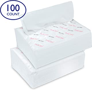 Ultra Soft Dry Wipes for Baby and Adults, 100 Count - Convenient Dispenser Pack - 11.5