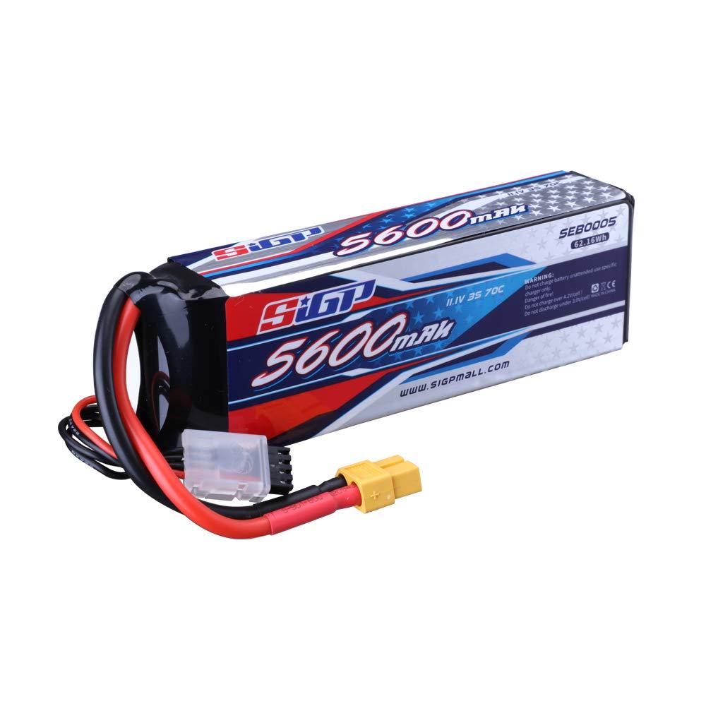 Bateria LIPO 11.1V 5600mah 70C 3S XT90 Plug SIGP