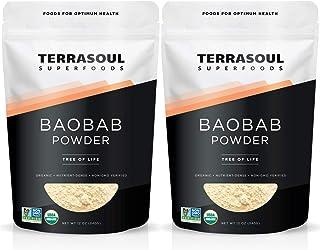 Terrasoul Superfoods Organic Baobab Fruit Powder, 1.5 Pounds