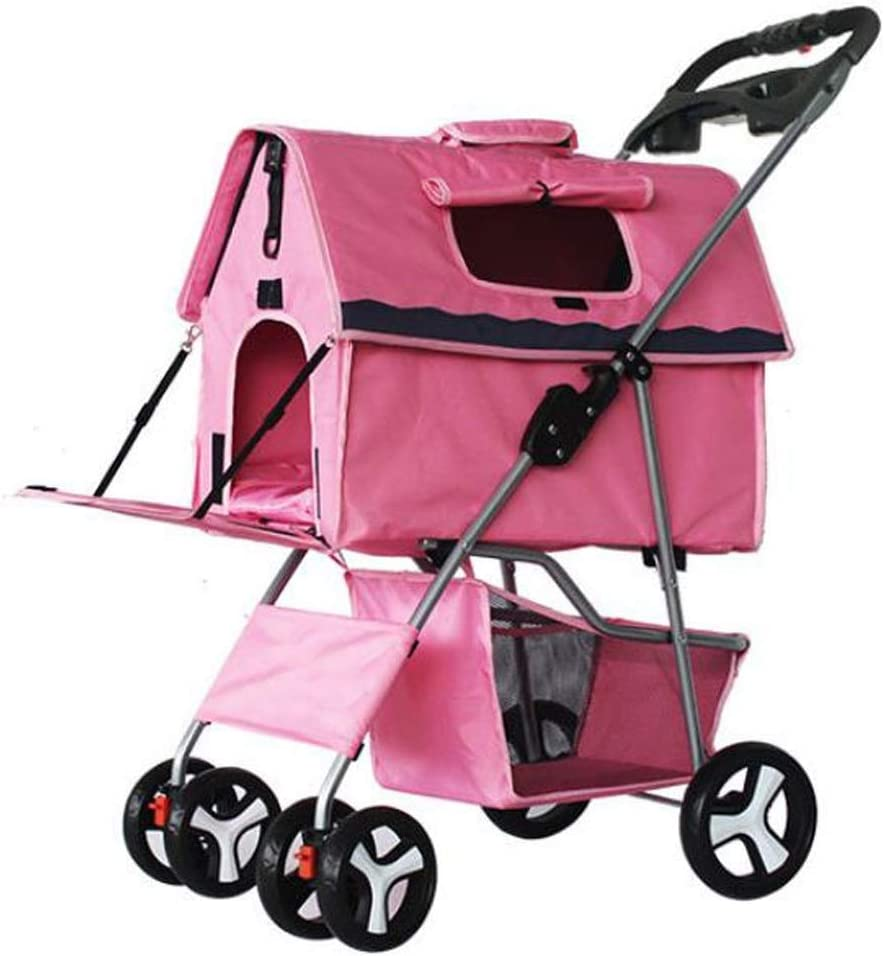 CHENGLONGTANG Pet Stroller Travel S OFFicial Price reduction shop Dog Trolley