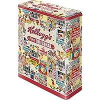 Questo splendido contenitore per alimenti in design vintage non è solo bella da vedere ma anche pratica; articolo con tema Kellogg's Articolo Vintage, ideale per un regalo