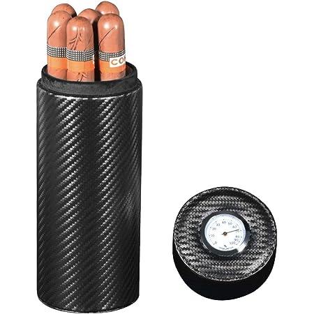 Zigarrenetui 5 Zigarren Etui Humidor Echtleder Zigarre Reiseetui Wasserdicht