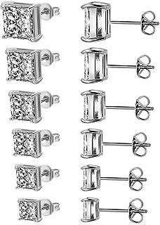 Best 14 carat gold cubic zirconia earrings Reviews