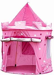 comprar comparacion Kiddus Tienda casa casita Carpa campaña para niñas de Tela Lona Castillo Princesa, Pop UP Plegable para Jugar Juguete Infa...