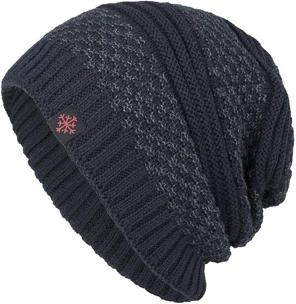 FABEILAI Men Women Winter Oversized Beanie Skull Slouch La National uniform free shipping Max 71% OFF Cap