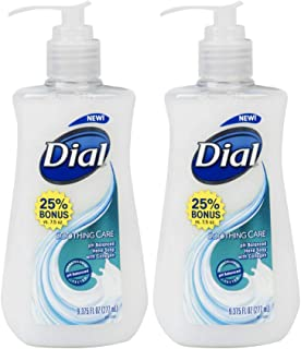 Dial Soothing Care Hand Soap - 9.375 Fl Oz - Pack of 2